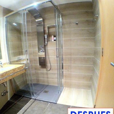Cambio de bañera por plato de ducha en Andorra