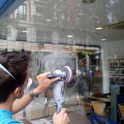 Eliminación de graffitis en Bilbao