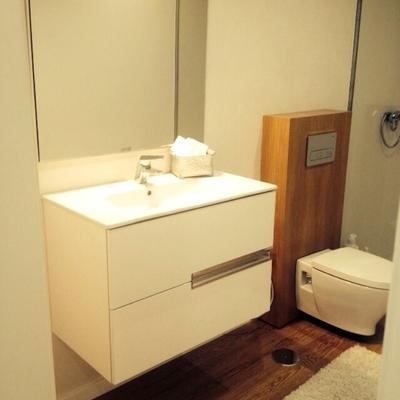Detalle baño de habitación principal