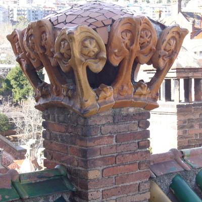 Detalle chimenea