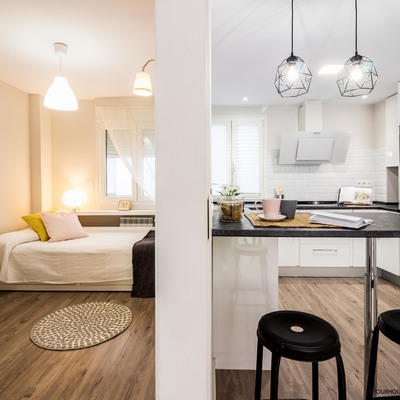 Reforma integral y Home Staging completo para apartamento urbano en alquiler