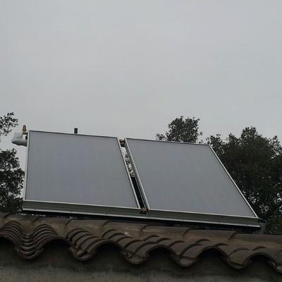 Suministro Acs Con Energia Solar Sistema Drain-Back