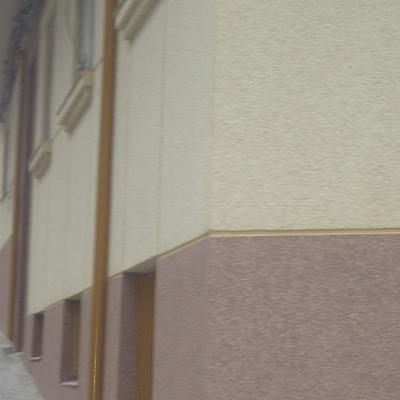 Aplicación de cotegran en fachada