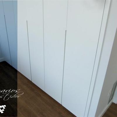 Detalle de armarios realizados en casa construida por CEF Valencia