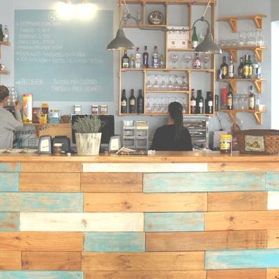 Diseño barra para cafetería Coso