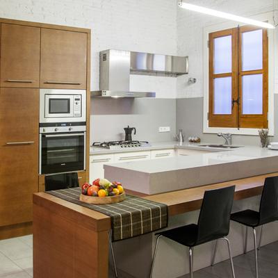 Proyecto, dirección y gestión de obra de vivienda de 100 m2 en Barcelona