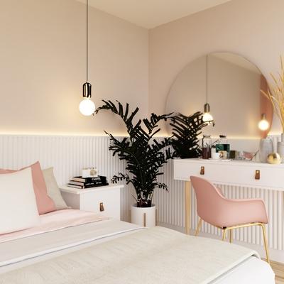 Propuesta de decoración de un dormitorio