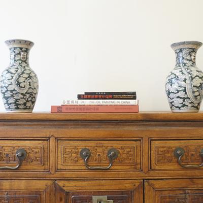 Detalle de mueble chino