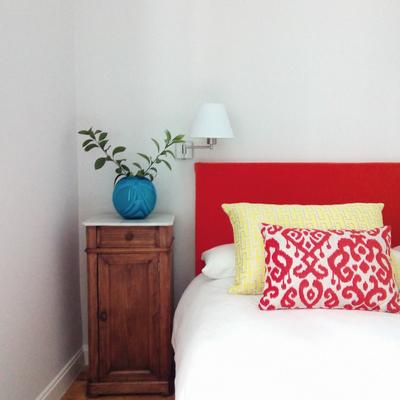 Detalle decoración dormitorio