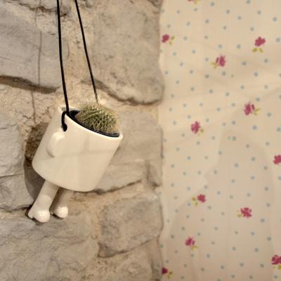 detalle decorativo planta piedra papel pintado