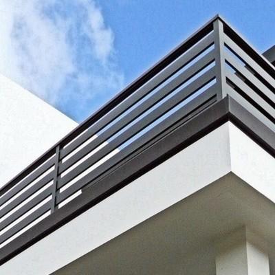 Detalle del balcón de fachada