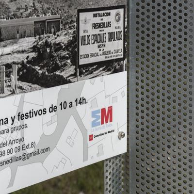 Construcción de mobiliario urbano en Fresnedillas