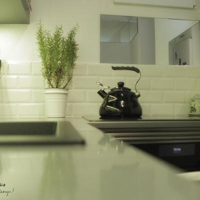 La cocina de Ana y Paul por emmme studio