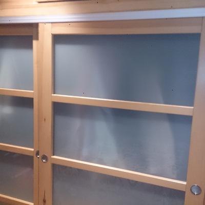 Frente armario madera maciza