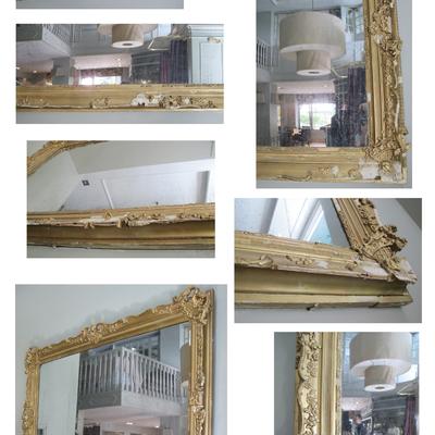 Restauración marco dorado estilo Victoriano