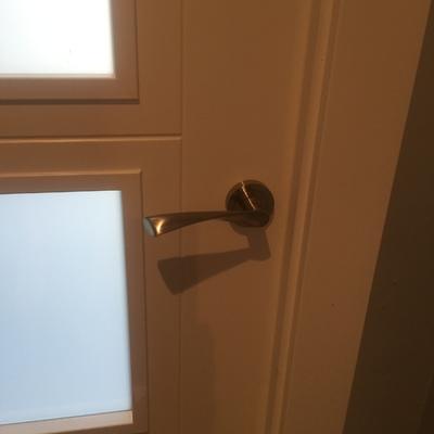 Colocación de puertas lacadas bloc