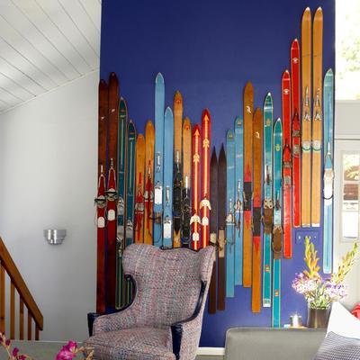 Cómo decorar tu casa con esquís