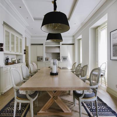 Una vivienda clásica y elegante