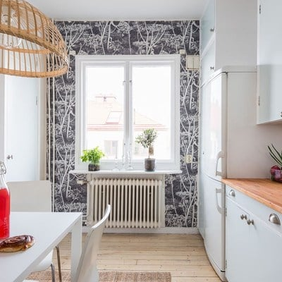 Estudio de 34 m² perfecto para la primavera y el verano