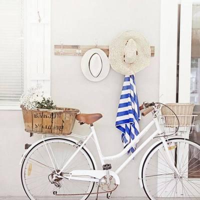 Ideas para decorar con bicicletas