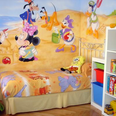 Dibujo En Habitacion Infantil