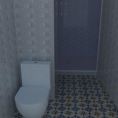 Reforma baño pequeño y estrecho