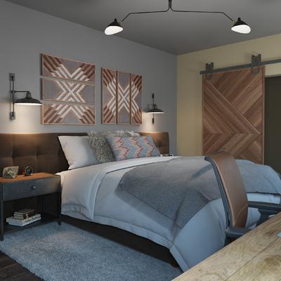 Decoración para un dormitorio completo