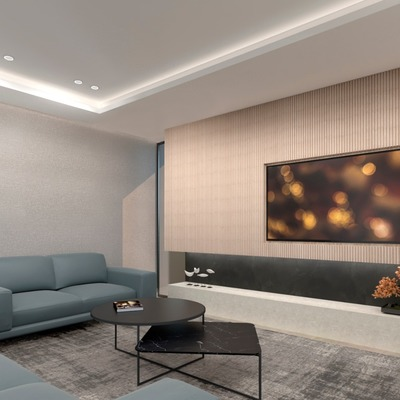 Diseño integral de vivienda moderna