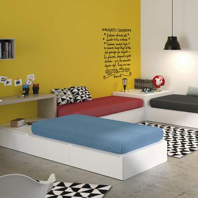 Diseño de Dormitorio Juvenil de muebles JJP