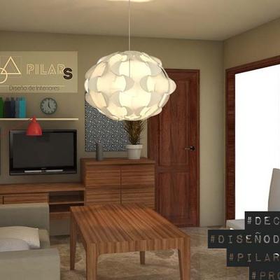 Asesoramiento diseño salón y dormitorio