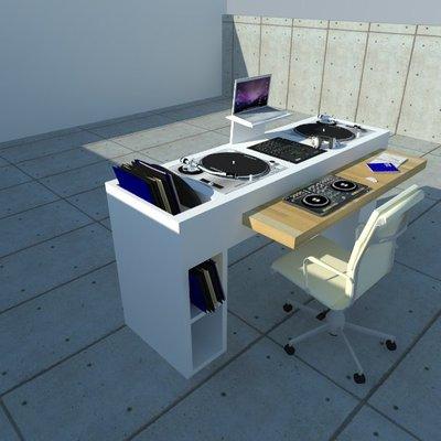Diseño Mueble DJ
