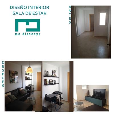 Interiorismo I Decoración En Sala De Estar