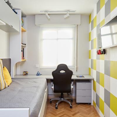 """Diseño y Ejecución de Dormitorio Juvenil """"A Cuadros"""""""