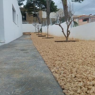 Diseño de jardín (obra la vileta)