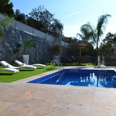 Diseño zona piscina