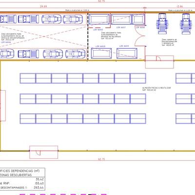 Proyecto técnico de centro autorizado de tratamiento de vehículos. Desguace autorizado.
