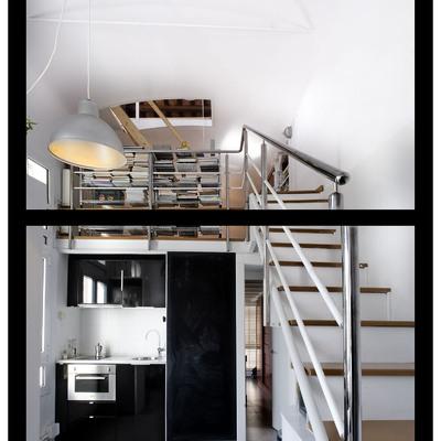 Casa Fitt: la fábrica téxtil reconvertida en loft