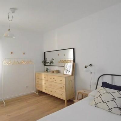 Un piso de 40m² reformado para recibir nuevos inquilinos