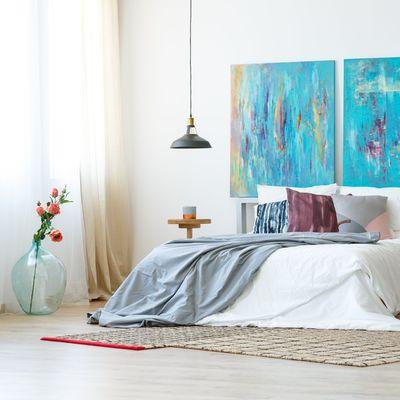 Ideas que podemos robar de dormitorios nórdicos