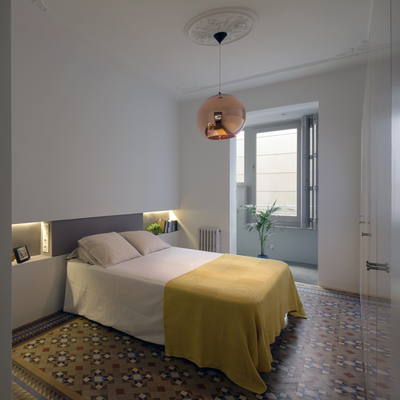 Dormitorio modernista