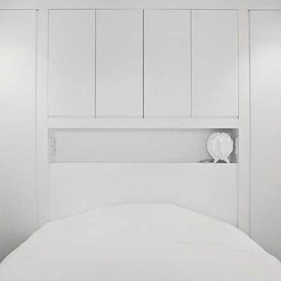 Dormitorio apartamento reforma Valencia