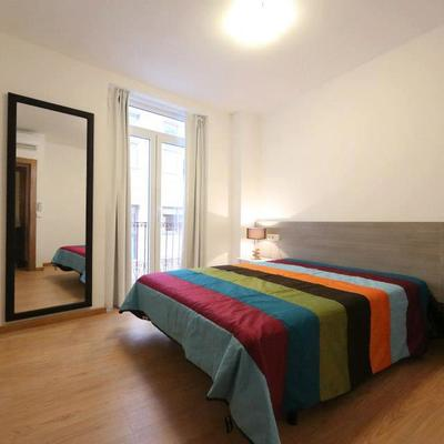 Dormitorio apartamento tipo 1