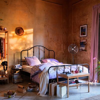 Cómo conseguir que tu dormitorio sea un refugio contra el calor