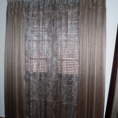 Ideas y fotos de cortinas fruncidas para inspirarte - Cortinas con visillo ...
