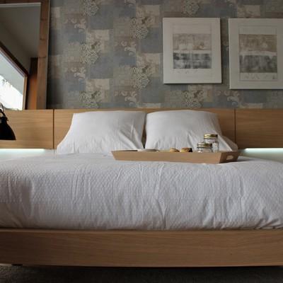 Dormitorio de estilo nordico