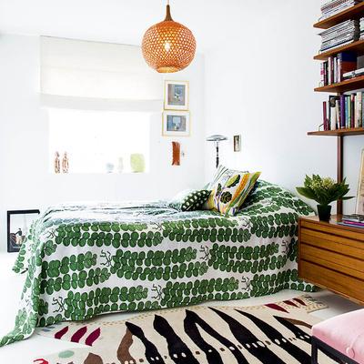 dormitorio de estilo tropical