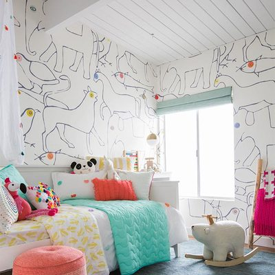 Ruptura y mezcla de estilos en la casa de una estilista