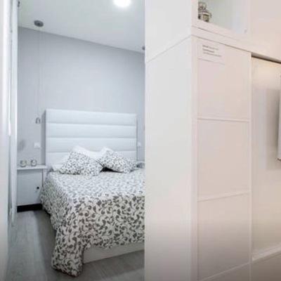 Dormitorio desde salón