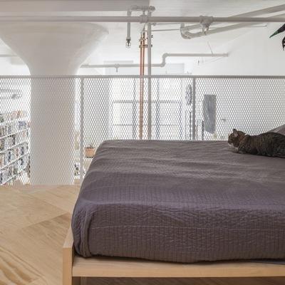 Dormitorio en altillo con vistas