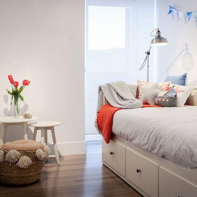 Cómo aprovechar el espacio invisible de tu dormitorio